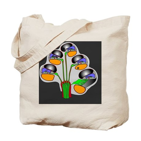 Helicotrema cochlear structure, artwork Tote Bag
