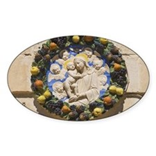 Madonna and child house plaque, Mdi Decal