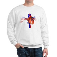 Heart, artwork Sweatshirt