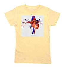 Heart, artwork Girl's Tee