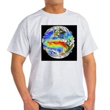 Earth's 3-D cloud cover T-Shirt