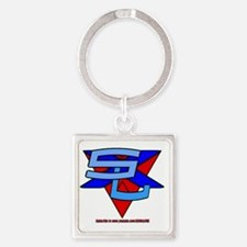 SxL Logo Square Keychain