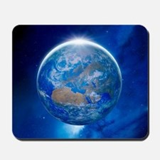 Earth from space, artwork Mousepad