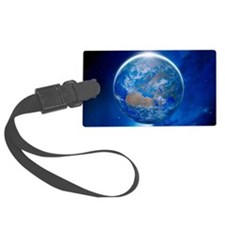 Earth from space, artwork Luggage Tag