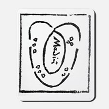 Heart diagram, 16th century Mousepad
