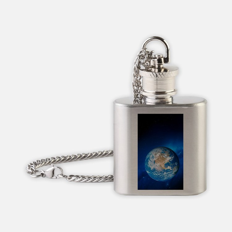 Earth Flask Necklace