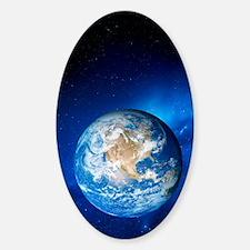 Earth Sticker (Oval)