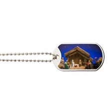 Nativity scene Dog Tags