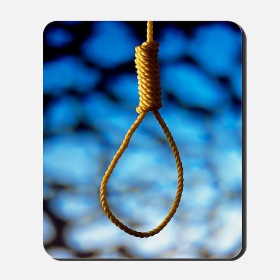 Hangman's noose Mousepad