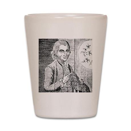 Gustavus Katterfelto, Prussian conjurer Shot Glass