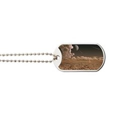 Early Earth, computer artwork Dog Tags