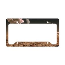 Early Earth, computer artwork License Plate Holder