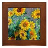 Sunflowers Framed Tiles