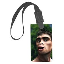 Early human, artwork Luggage Tag