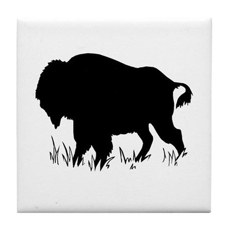 The Buffalo Tile Coaster