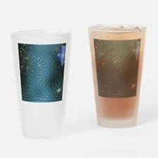 Gravity waves in space-time, artwor Drinking Glass