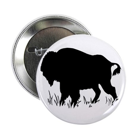 """The Buffalo 2.25"""" Button (100 pack)"""