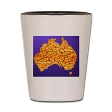 Drought in Australia, conceptual image Shot Glass
