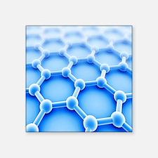 """Graphene Square Sticker 3"""" x 3"""""""
