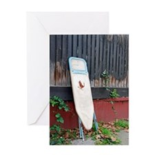 Dumped ironing board Greeting Card