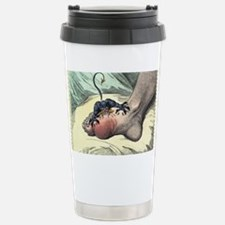 Gout, 18th-century caricature Travel Mug