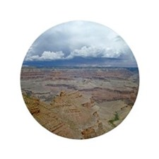 "Grand Canyon with Thunderhead Cloud 3.5"" Button"