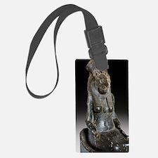 Goddess Sekhmet Luggage Tag