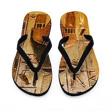Goddess Maat Flip Flops