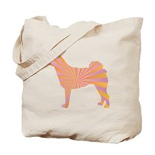 Norrbottenspets Rays Tote Bag