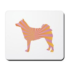 Norrbottenspets Rays Mousepad