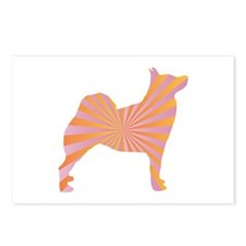Buhund Rays Postcards (Package of 8)