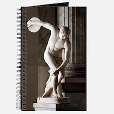 Discus thrower statue Journal