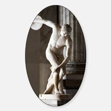 Discus thrower statue Decal