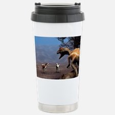 Dinosaurs at a kill Travel Mug