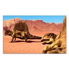 Dimetrodon pair, artwork Decal