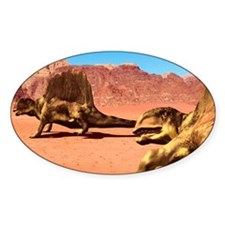 Dimetrodon pair, artwork Decal