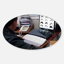 Digital facial composite software Sticker (Oval)