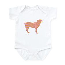 Entlebucher Rays Infant Bodysuit