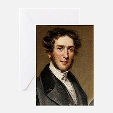 Gideon Mantell, palaeontologist Greeting Card