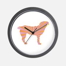 Entlebucher Rays Wall Clock
