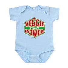 Veggie Power Vegan Infant Bodysuit