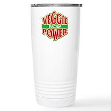 Veggie Power Vegan Travel Mug