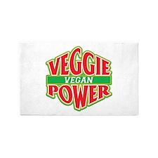 Veggie Power Vegan 3'x5' Area Rug