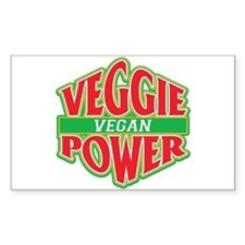 Veggie Power Vegan Decal