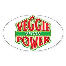Veggie Power Vegan Decal