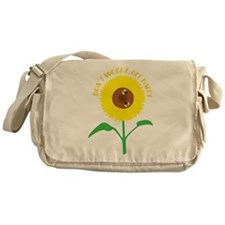 Dont Worry Be Happy Messenger Bag