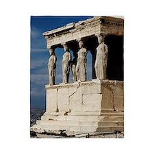 Temple of Athena at Parthenon Twin Duvet