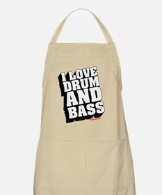 I Love Drum And Bass Apron