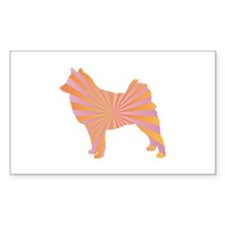 Spitz Rays Rectangle Decal