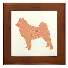 Spitz Rays Framed Tile